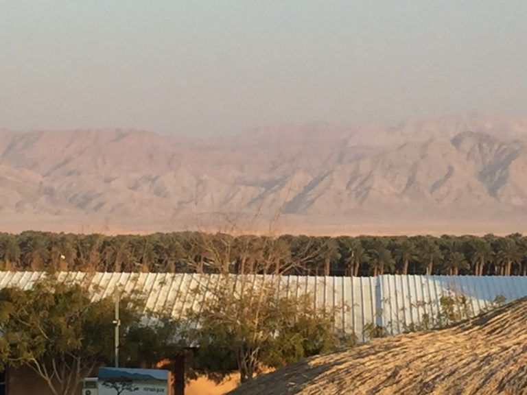 View of Mountains from Kibbutz Ketura