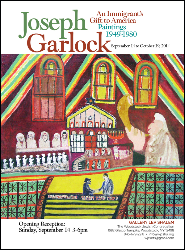 Joseph Garlock - An Immigrant's Gift to America ― Paintings 1949―1980. Opening Reception: Sunday, September 14, 2014: 3 - 6 pm