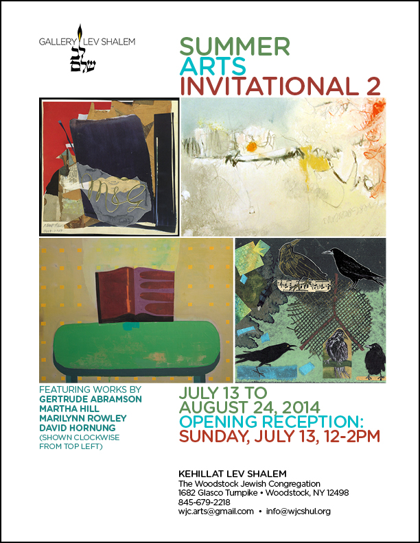 Summer Arts Invitational 2: July 13 to August 24, 2014