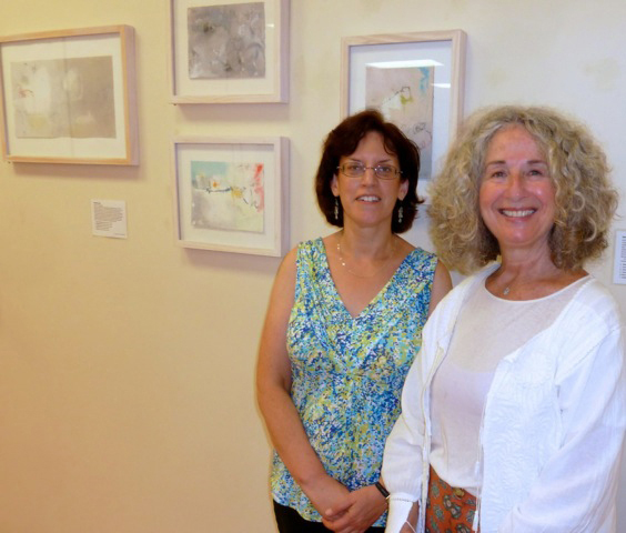 Martha Hill & Charlote Tusch Scherer, Arts Committee Chair